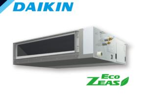 ダイキン EcoZEASシリーズ 天井埋込ダクト形 高静圧タイプ 2.5馬力 シングル 単相200V ワイヤード 標準省エネ 業務用エアコン