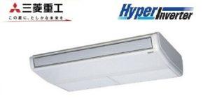三菱重工 HyperInverterシリーズ 天吊形 1.5馬力 シングル 三相200V ワイヤード 標準省エネ 業務用エアコン