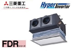 三菱重工 HyperInverterシリーズ 天埋カセテリア 4馬力 シングル 三相200V ワイヤード 標準省エネ キャンバスダクトパネル 業務用エアコン