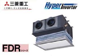 三菱重工 HyperInverterシリーズ 天埋カセテリア 2.5馬力 シングル 三相200V ワイヤード 標準省エネ キャンバスダクトパネル 業務用エアコン