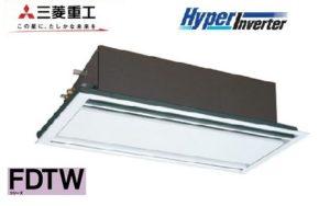 三菱重工 HyperInverterシリーズ 天井カセット2方向 3馬力 シングル 単相200V ワイヤード 標準省エネ ホワイトパネル 業務用エアコン