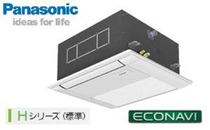 パナソニック Hシリーズ エコナビ 1方向天井カセット形 1.5馬力 シングル 三相200V ワイヤード 標準省エネ 業務用エアコン