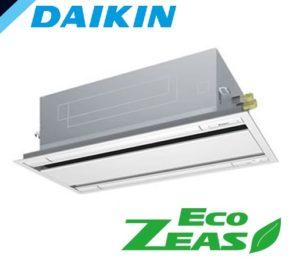 ダイキン EcoZEASシリーズ 天井カセット2方向 エコダブルフロー 3馬力 シングル 単相200V ワイヤード 標準省エネ 業務用エアコン