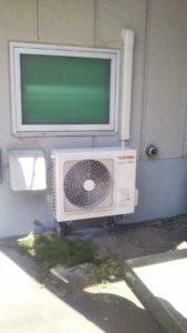壁掛け型業務用エアコン設置工事