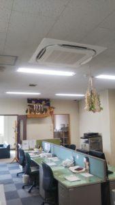 北広島市 空調機更新工事