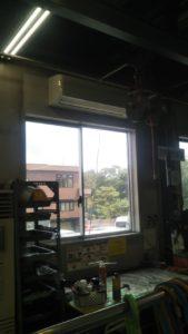 札幌市 工場内空調機新規設置工事