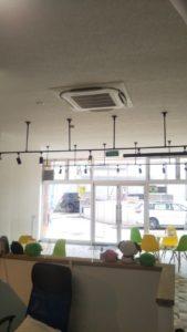 札幌市 事務所内空調機新規設置工事