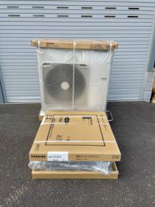 東芝製 天カセ4方向 室内機室外機セット