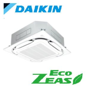ダイキン 業務用エアコン EcoZEAS 天井カセット4方向 S-ラウンドフロー ストリーマZEAS 6馬力 シングル 標準省エネ