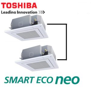 東芝 業務用エアコン スマートエコneo 天井カセット4方向 6馬力 同時ツイン 標準省エネ  冷媒R32
